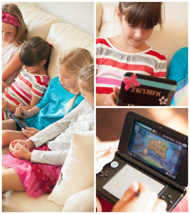 Nintendo 3ds gamer girls