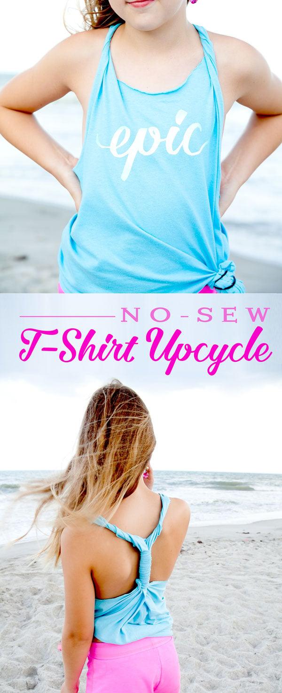 No-sew-tshirt-upcycle-tutorial