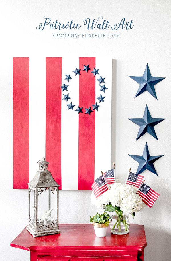 Patriotic-Wall-Art-Tutorial