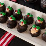 Christmas Cookies: Peanut Butter Buckeyes