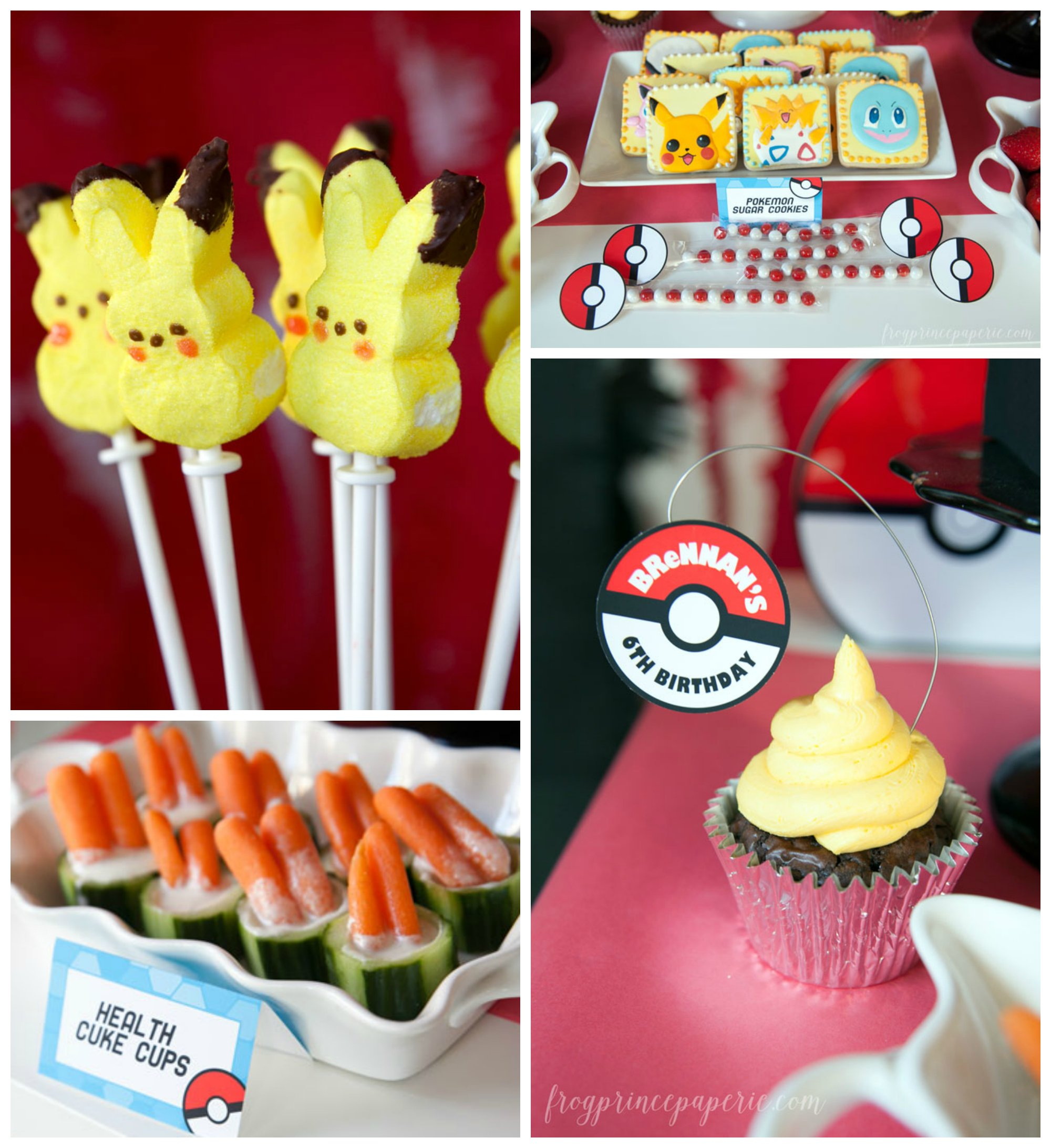 Easy Pokemon Birthday Party Ideas Page 3 of 4 Frog Prince Paperie