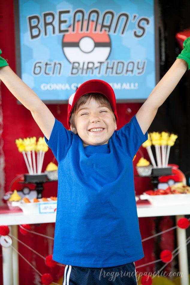 Pokemon birthday party ideas DIY and Amazon Primed!