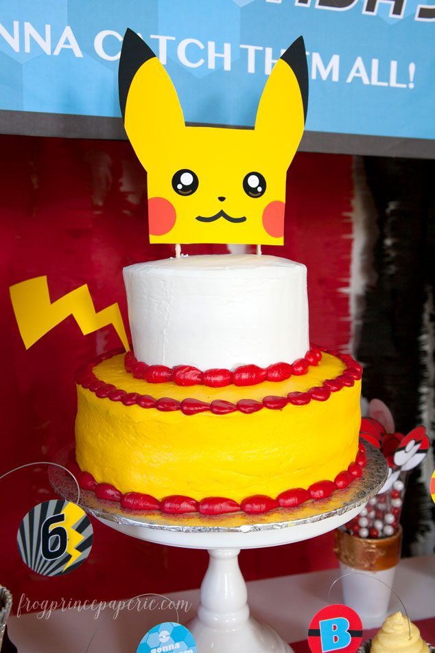 Pokemon-Birthday-Cake