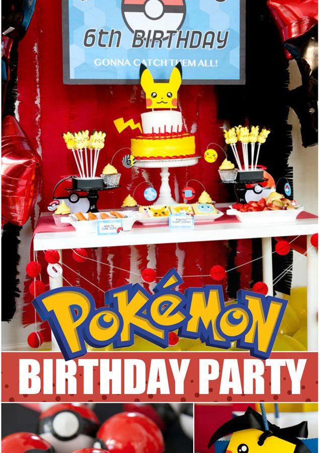 Pokemon Birthday party ideas for the perfect Pokemon party