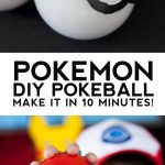 Pokeball DIY Pokemon Party Favor in Under 10 Minutes!