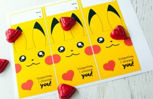Free Printable Pokemon Valentine