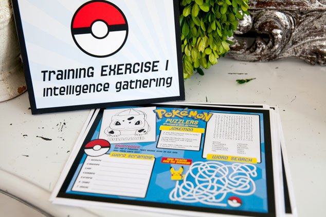 Easy Pokemon Party Games And Pokemon Party Activities