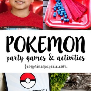Pokemon party games for your pokemon party
