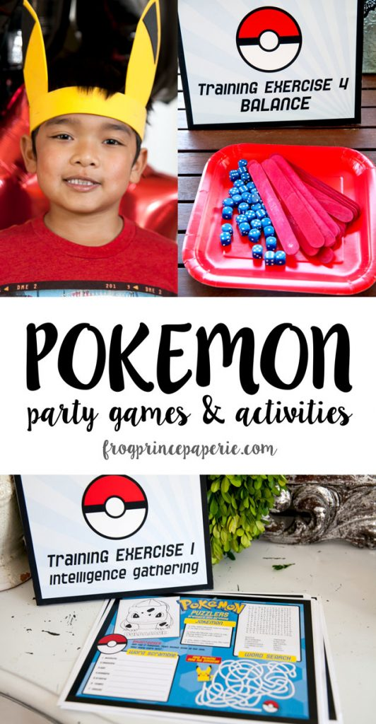 Pokemon-party-games-and-activities
