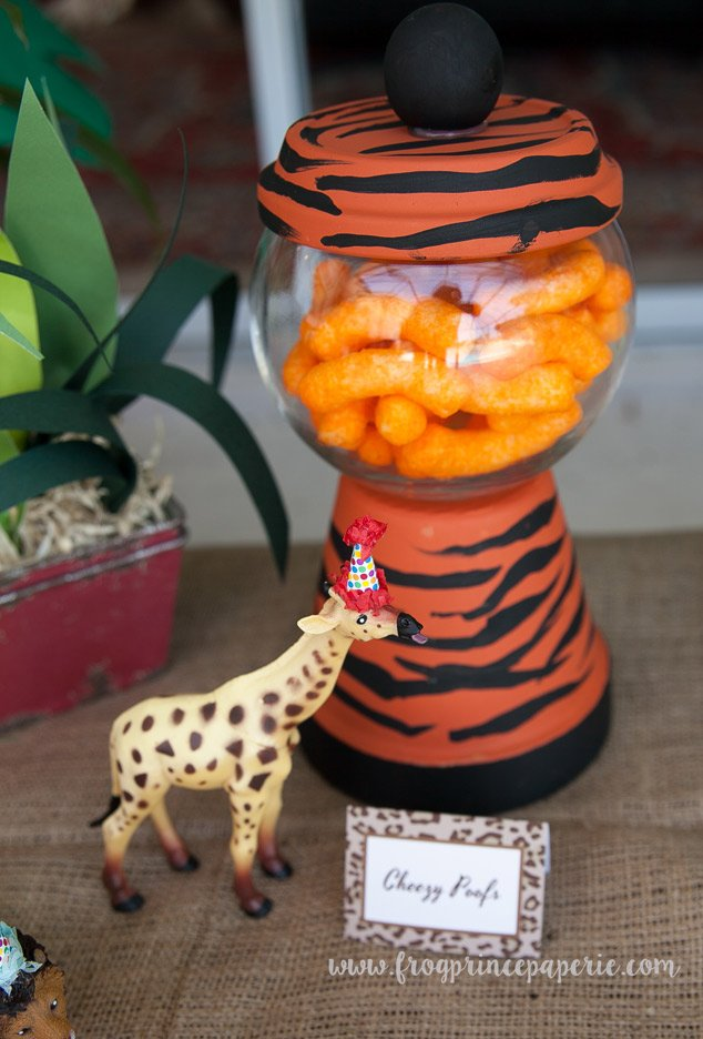 Snack ideas for a safari birthday party