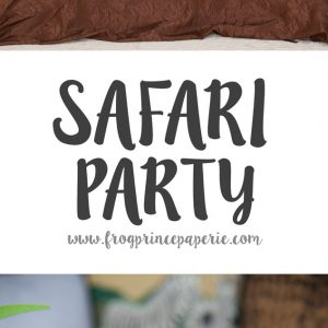 Load of ideas for a completely doable a safari birthday party!