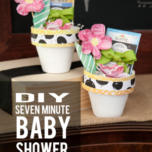 Seed Packet Baby Shower Favor – Make it in 7 Minutes!
