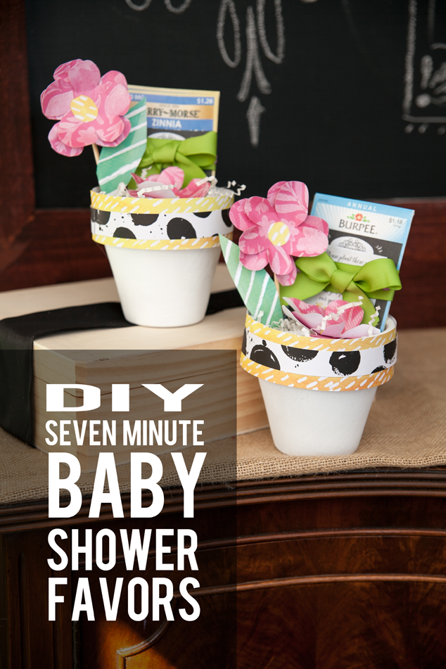 Seed Baby Shower or party Favor
