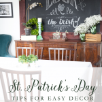 St. Patrick's Day Easy Home Decor