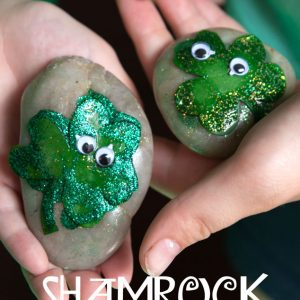 St. Patrick's Day Kid Craft: ShamROCKS