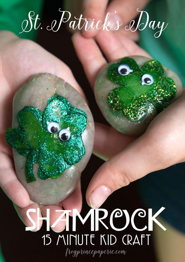 St-Patrick's-Day-Kid-Craft---ShamROCKs