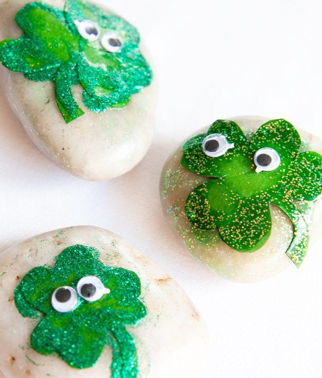 St.-Patrick's-Day-Kid-Craft-three-rocks