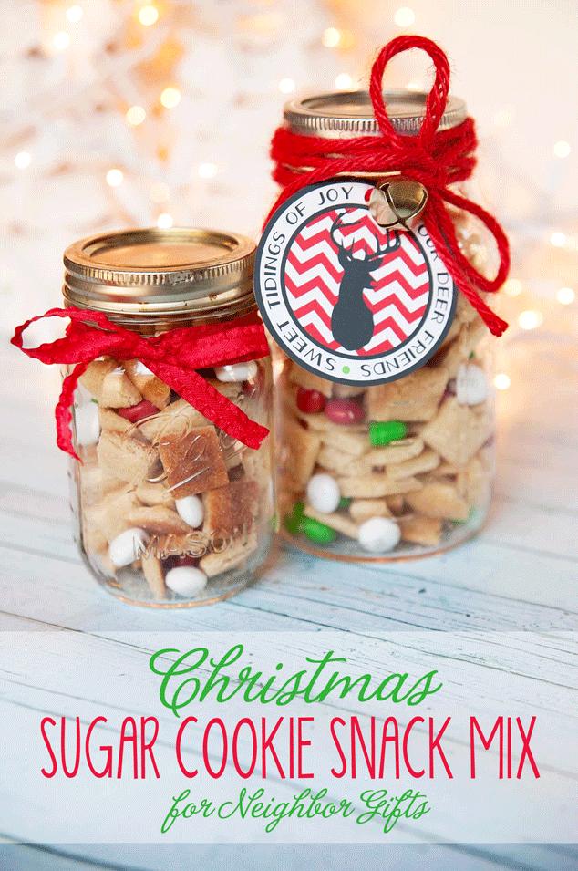 Sugar-Cookie-Snack-Mix-Neighbor-Gift