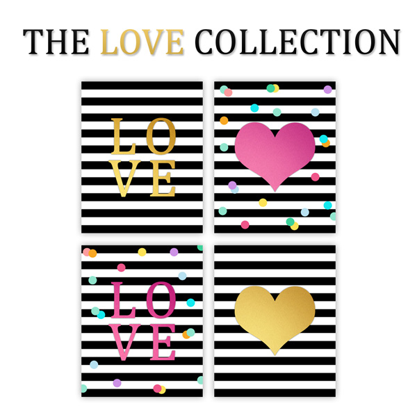 The Love Collection Free Printable Valentine