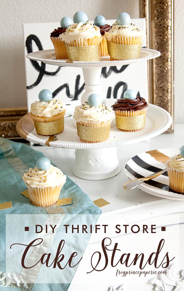 Thrift-Store-Cake-Stand