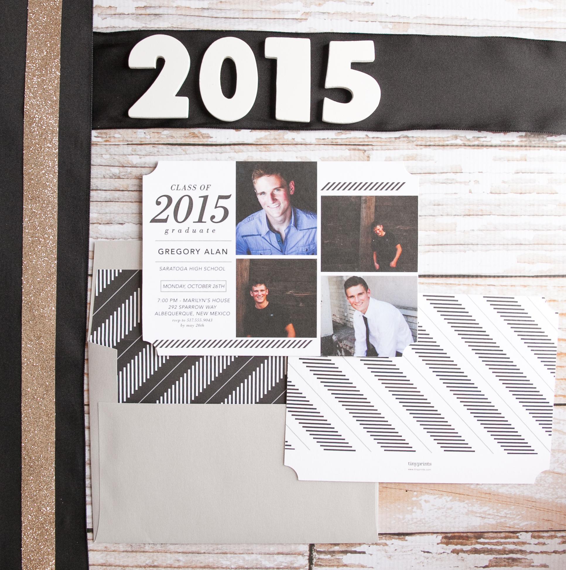 tiny prints graduation announcements 10 free grad announcement