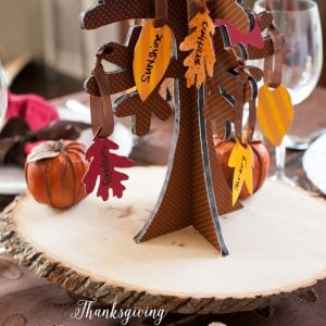 Thanksgiving Tree of Thanks Free Printables