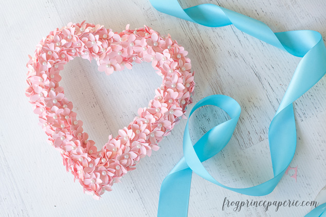 Make a Valentine DIY Heart wreath and make Valentine's Day decor that's extra special.