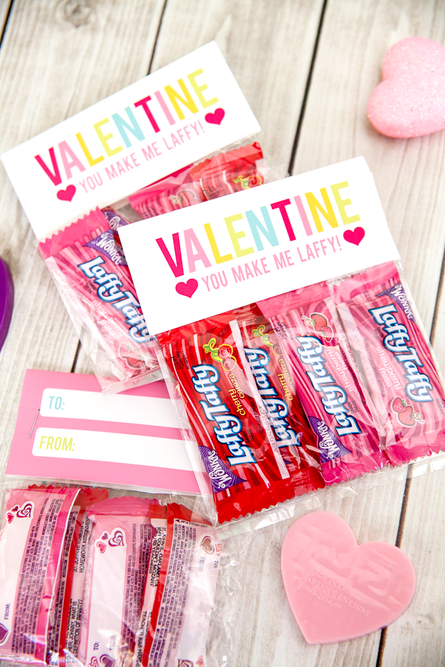 cute valentines with nerds candy | just b.CAUSE