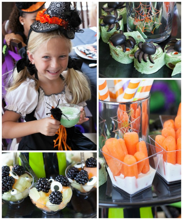 Witches tea party treats