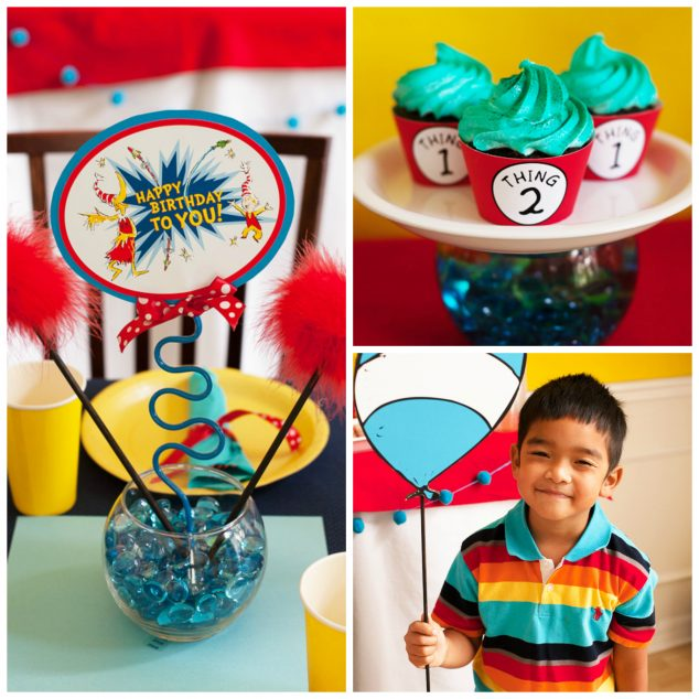 dr seuss party collage 1