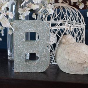How to Make a Glitter Letter – Video Tutorial