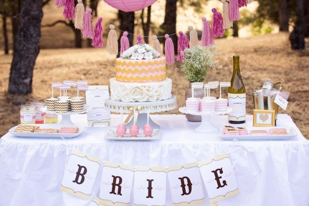 linky, linky party, shower, bride