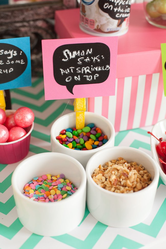 Playdate party ideas with chalkboard labels #playdate