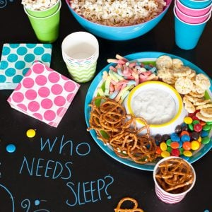Slumber party tips for your first sleepover