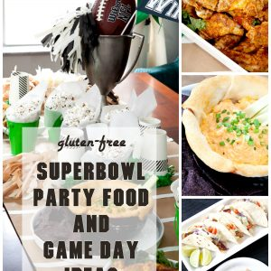 Gluten-Free Superbowl Party Food: Savory Baked Chicken Wings and BBQ Tacos