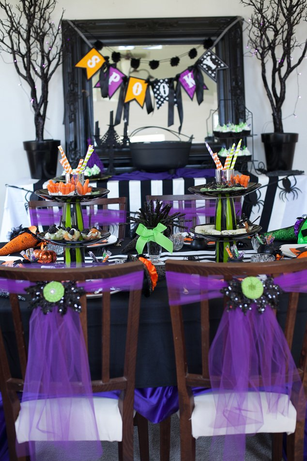little witchs tea party on a budget a bewitching halloween party