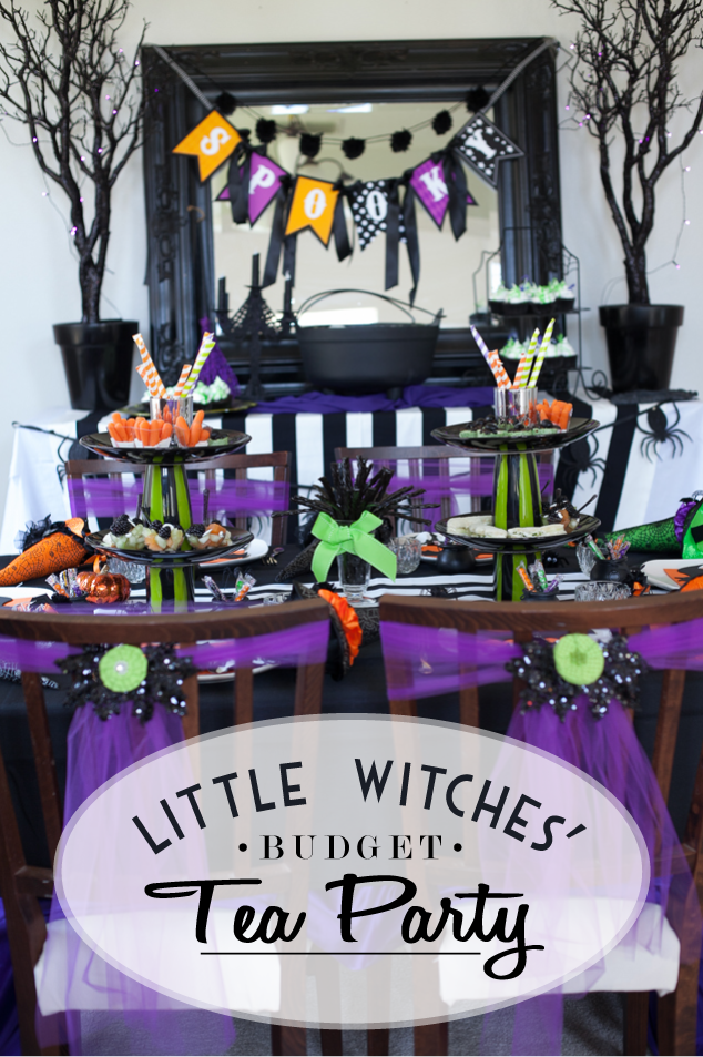 Witch Themed Halloween Party