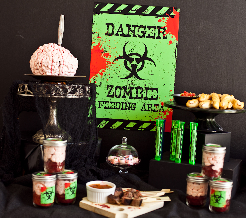 Zombie Party Ideas and Gruesome Recipes